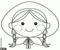 free coloring pages , coloring sheets , printable coloring pages Free Coloring Pages, Printable Coloring Pages, Coloring Sheets, Red Riding Hood, Little Red, Embroidery Patterns, Fairy Tales, Hello Kitty, Fictional Characters