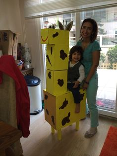 Carboardbox giraffe