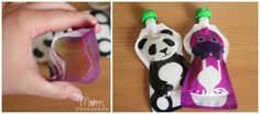 Squooshi Food Pouches - cute and reusable!!