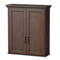 Foremost Ashburn 23-1/2 in. W Wall Cabinet in Mahogany-ASGW2327 at The Home Depot