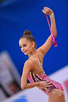 Arina Averina (Russia) won bronze in all-around finals at Grand Prix (Moscow) 2017