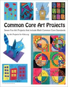 Here are seven of my favorite art projects that just happen to use Math Common Core Standards. Art Classroom Posters, Classroom Art Projects, Cool Art Projects, Classroom Ideas, Common Core Art, Sad Paintings, Art Curriculum, Collaborative Art, Art Lessons Elementary