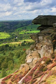 Curber Edge View, Peaks Dist. Derbyshire