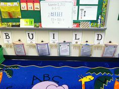 Interesting blog post shares how Mrs. Gerlach organizes math instruction: B.U.I.L.D. (Buddy games, Using manipulatives, Independent work, Learning about numbers, Doing)