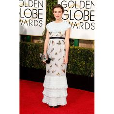 Keira Knightley en robe Chanel http://www.vogue.fr/mode/red-carpet/diaporama/les-golden-globes-2015/21823/image/1128567#!keira-knightley-en-robe-chanel