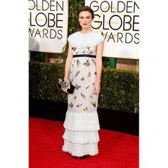 Keira Knightley en robe Chanel http://www.vogue.fr/mode/red-carpet/diaporama/les-golden-globes-2015/21823/image/1128567#!keira-knightley-en-robe-chanel
