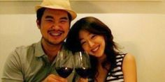 Sulli looks happy with her 'love' and 'treasure' Choiza | http://www.allkpop.com/article/2016/04/sulli-looks-happy-with-her-love-and-treasure-choiza
