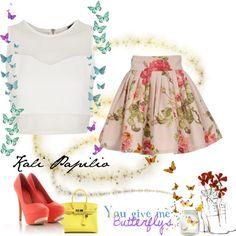 """Romantic Elegant"" by angelina-bit on Polyvore"