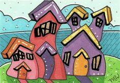 Mary Walker: Whimsical Houses