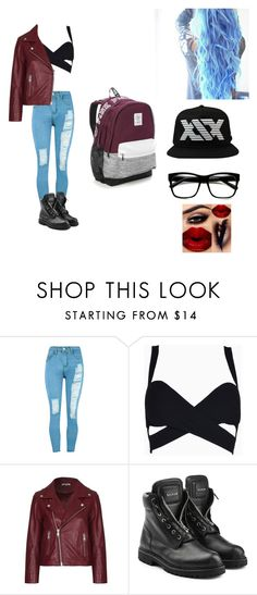 """Meeting Simon. Day 3. Last day."" by lexiplier ❤ liked on Polyvore featuring WithChic, Ganni, Balmain and Victoria's Secret"