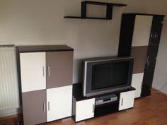 Wohnwand Wohnzimmer Schränke Brauntöne in Frankfurt (Main) - Ginnheim | Wohnwand gebraucht kaufen | eBay Kleinanzeigen