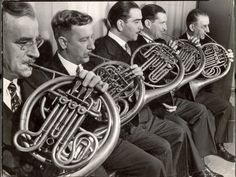 5 French horn players margaret bourke-white - Google Search