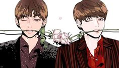 The roses vkook
