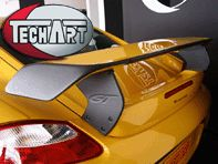 TechArt Rear Spoiler II GTS. Porsche Cayman 987C