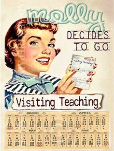 It makes me want to decide to visit teach...I love the retro pictures
