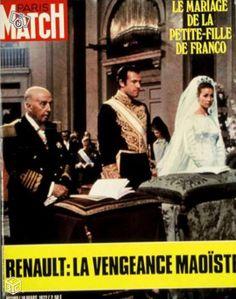 Carmen Martínez-Bordiú y Franco et Alphonse de Bourbon