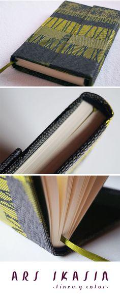 TULUM - estuche de notas encuadernado a mano. ¡Un objeto único para cobijar tus ideas! Cómpralo en http://www.arsikasia.com/tienda.html #Case #Notebook
