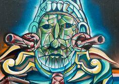 A tour through Bogotá's vibrant street art scene reveals more than pretty pictures.