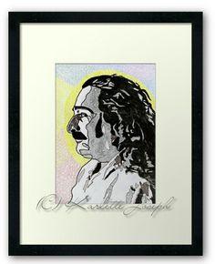 Avatar Framed Print http://www.redbubble.com/people/karlettejoseph/works/22769689-avatar?asc=u&p=framed-print&rel=carousel #Avatar #MeherBaba #framedart #spiritual #printart #ancientone