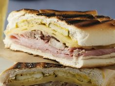 Grilled Cuban Sandwich *****  Finally a Cuban sandwich technique that really heat the sandwich but crisps the bread without burning it at all. Perfect!