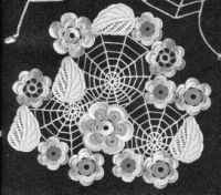 tutorial and chart for this spider-web connecting Russian Crochet, Form Crochet, Thread Crochet, Irish Crochet, Crochet Crafts, Crochet Lace, Crochet Patterns, Crochet Ideas, Irish Traditions