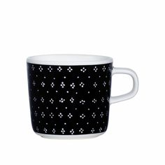 Marimekko Muija Black Coffee Cup