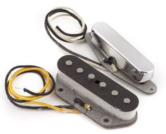 Fender Pure Vintage '64 Telecaster Pickups  Set of Single-Coil Neck and Bridge   #Fender