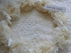 French  Communion Wreath by SimplyNordic on Etsy,