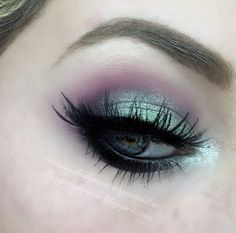 Electric Eyes by lilleexoxo on the #Sephora Beauty Board