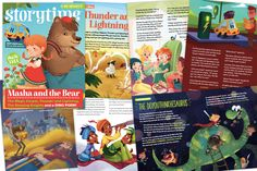 Storytime is the world's best story magazine for kids Masha And The Bear, Thunder And Lightning, Magazines For Kids, Magic Carpet, November 2019, News Blog, Story Time, Literacy, Fairy Tales