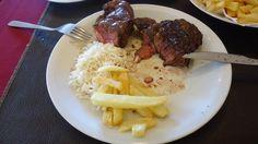 Bife de chorizo em Refugio Montanhes - Bariloche ARG
