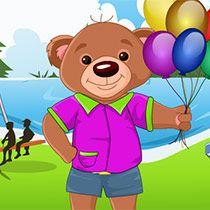 لعبة تلبيس الدب تيدي لعبة حلوة من العاب اطفال  Kids Games الرائعة جداً علي العاب فلاش ميزو