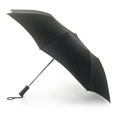 Fulton Windbreaker Mens Auto Umbrella Black