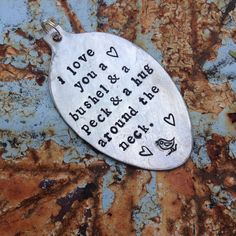 STaMPeD ViNTaGe uPCyCLeD SpooN JeWeLRy by JuLieSJuNQueTiQue, $14.50