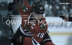 "Jonathan Toews for ""OWN THE MOMENT"" by Bauer Hockey, Inc."