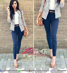 Business-Outfit 48 Modest Women Business Outfits for 2019 Summer Work Outfits, Casual Work Outfits, Mode Outfits, Work Casual, Classy Outfits, Outfit Work, Casual Summer, Summer Fashions, Classy Casual