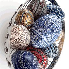 Pysanky embroidered - Google Search