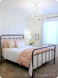 Girls Bedroom, Teenage Girl Bedroom Designs, Teen Girl Bedding, Teenage Girl Bedrooms, Teenage Room, Bedroom Themes, White Bedroom, Bedroom Ideas, Bedroom Decor