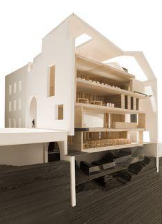 Headquarter of Contemporary Architecture Foundation in Córdoba, Spain by CUAC Arquitectura
