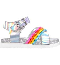 Toddler /& Big Girls Studded Jelly Sandals