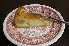 Apfelkuchen mit Sahne - Pudding - Guss 1
