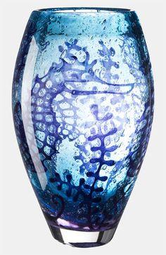Kosta Boda 'Underworld Seahorse' Vase
