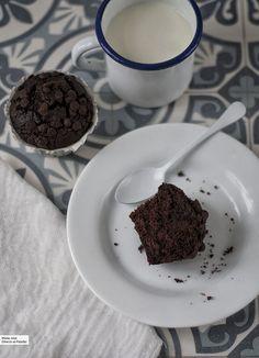 Magdalenas de remolacha y chocolate: receta para meriendas sorprendentes