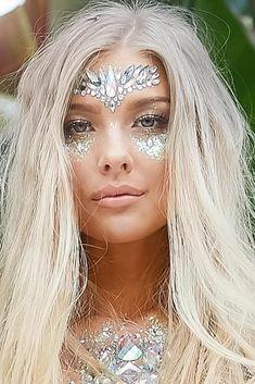 Make Up; Make Up Looks; Make Up Augen; Make Up Prom;Make Up Face; Make Carnaval, Beauty Makeup, Hair Beauty, Makeup Art, Makeup Geek, Exotic Makeup, Makeup Drawing, Lip Makeup, Party Make-up