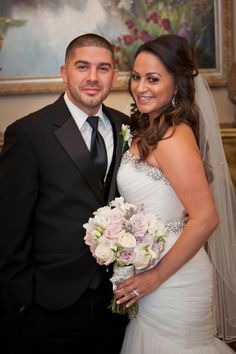 Romantic NJ Wedding at Grand Marquis by Photovisions / Contemporary Bride Magazine