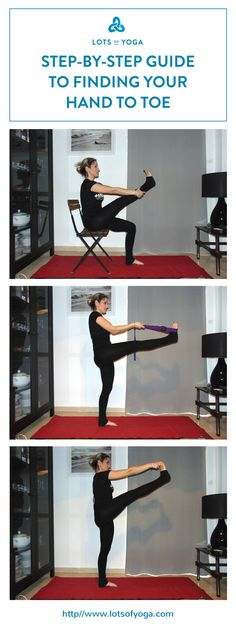 Easy step by step guide to Utthita Hasta Padangustasana modifications (Standing Head to Toes Modifications) to help you find your pose.