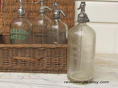 Seltzer Bottle, Vintage, Etsy