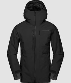 Norrøna lofoten Gore-Tex insulated Jacket for women - Norrøna® Snowboard, Gore Tex Jacket, Bring The Heat, Model One, Lofoten, Skiing, Jackets For Women, Snow Conditions, Tops