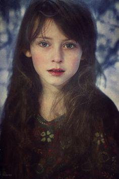♂ Woman portrait face of a beautiful young girl Natalie by Valeriya Reshetnicova