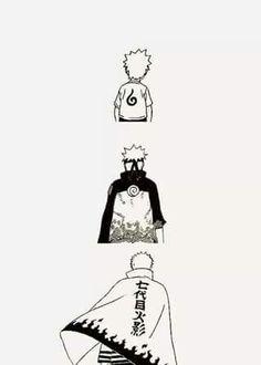 Naruto the years